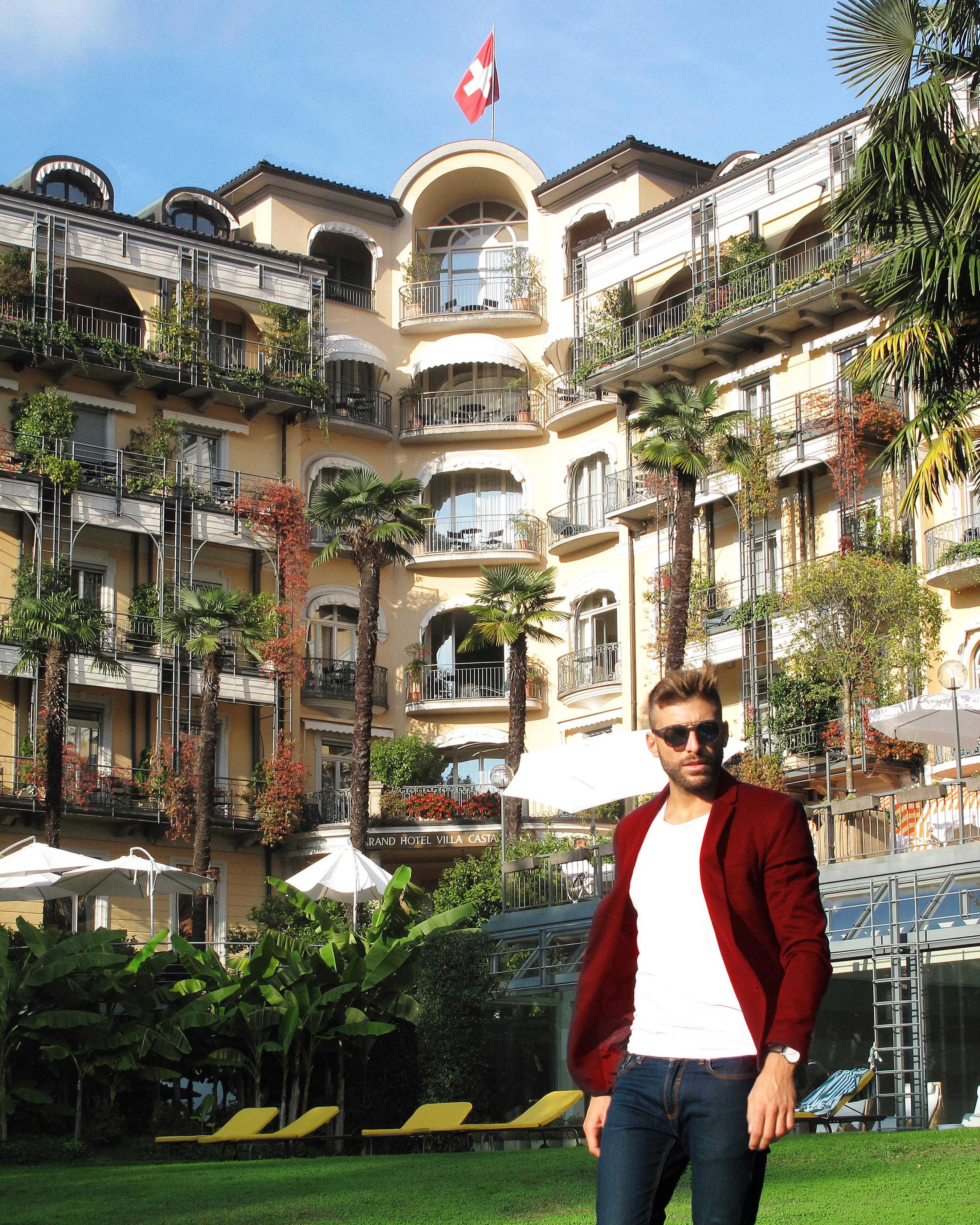 Grand Hotel Villa Castagnola Lake Lugano