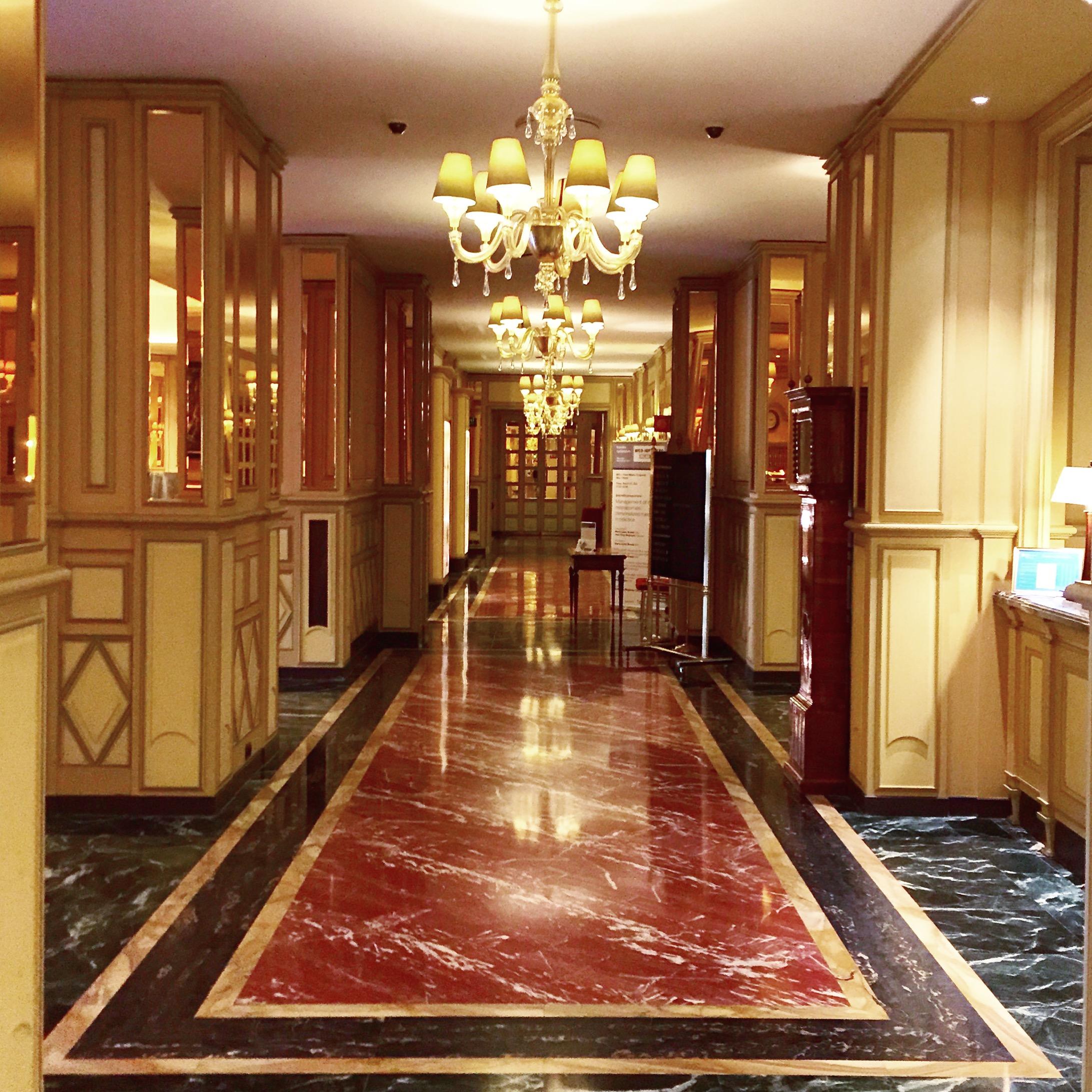 Principe di savoia milan for 1920s hotel decor